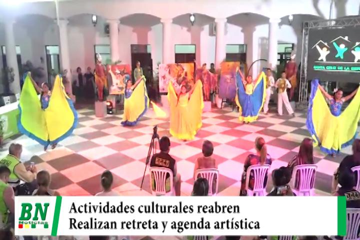 Agenda cultural se iniciará este 23 de octubre hasta diciembre reabriendo las actividades artísticas