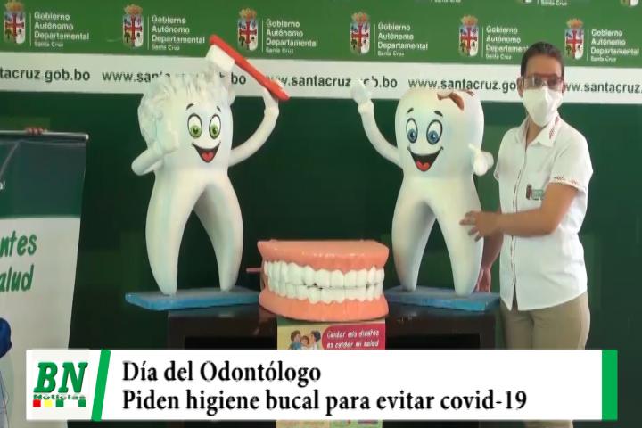 En el Día del Odontólogo la Gobernación pide mantener higiene bucal para evitar ingreso covid-19