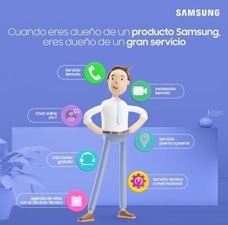 Samsung renueva su servicio post venta y ofrece nuevos canales de atención al cliente