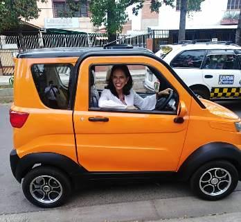 Pro Mujer y la fabricante boliviana Quantum lanzan un ecocrédito para que más mujeres tengan su propio vehículo
