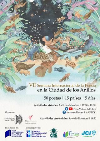 50 poetas de 15 países participarán en laVII Semana de la Poesía en la Ciudad de los Anillos