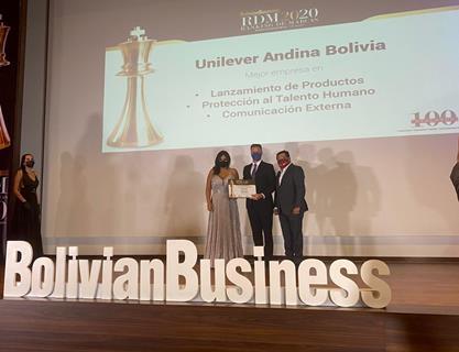 Unilever, entre las 25 empresas más influyentes de Bolivia