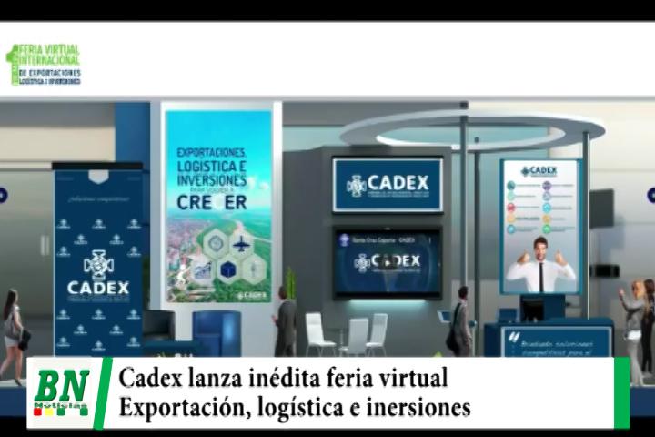 Cadex lanza inédita feria virtual de exportaciones, logística e inversiones