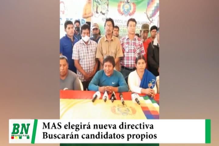 Campaña MAS 2021, MAS en San Julian elegirá nueva directiva quienes buscarán candidatos propios