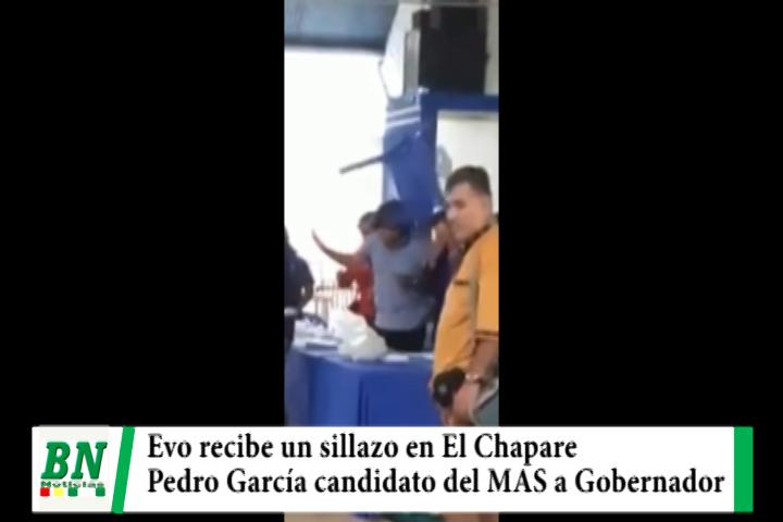 Evo recibe sillazo en El Chapare mientras Pedro Garcia es elegido candidato a Gobernador por el MAS