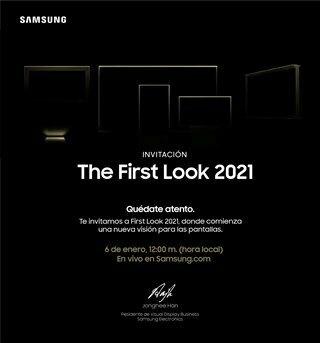 Samsung First Look 2021: el futuro de las pantallas llega el 6 de enero