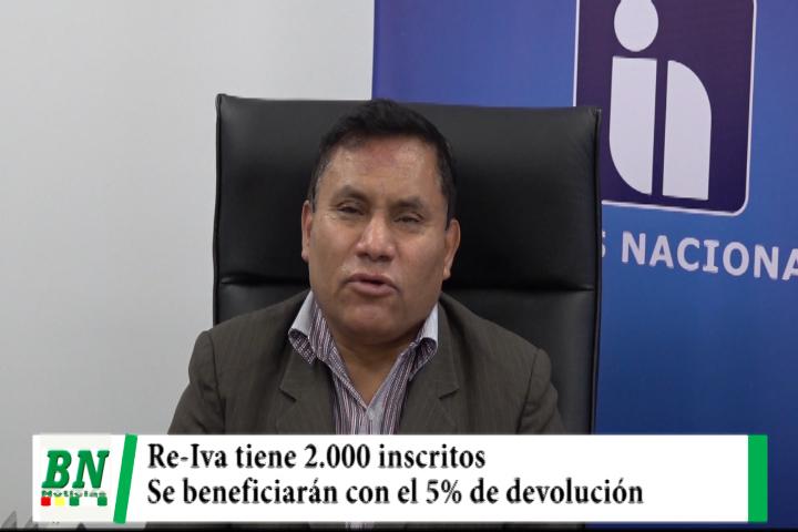 SIN inscribe a más de 2,000 personas que se beneficiarán con el 5% de la devolución del Re-Iva