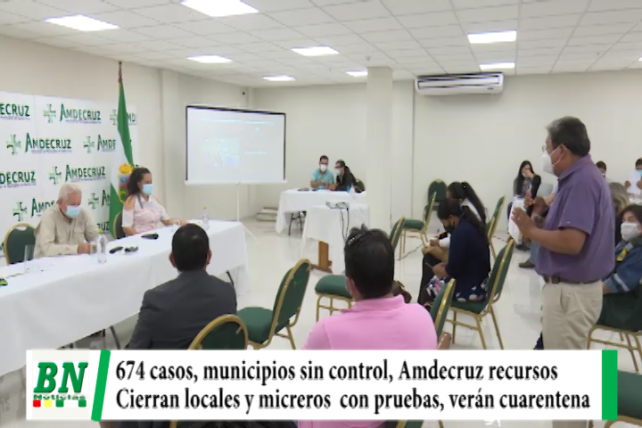 Alerta coronavirus, 674 casos y piden controlar en municipios, Amdecruz coordina acciones, cierran locales y aplican pruebas a micreros