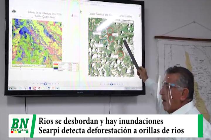 Desborde de rios se deben a deforestación en sus orillas y disminución de servidumbre ecológica