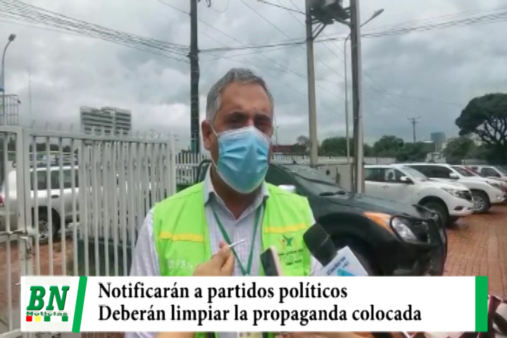 Municipio notificará a partidos políticos ordenando limpien la propaganda que ensucia la ciudad