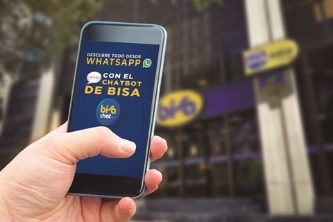 El BISA incorpora inteligencia artificialen su línea de consulta WhatsApp