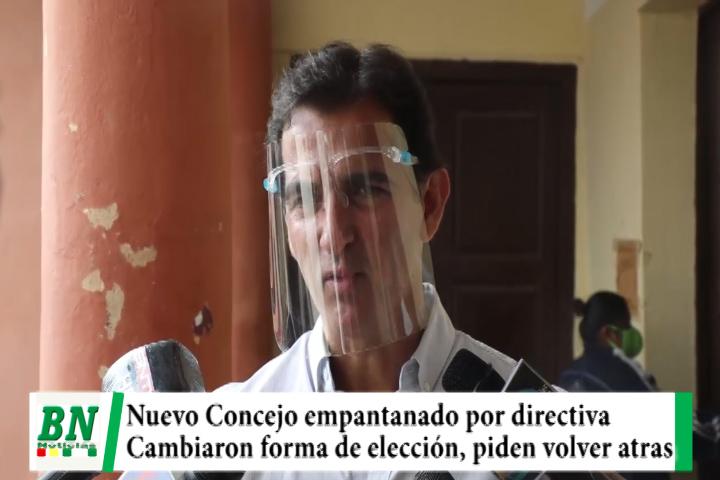 Elección de nueva directiva en Concejo Municipal empantanado por nueva forma de elegir