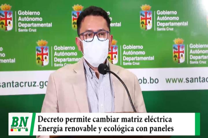 Nuevo decreto permite uso de energía ecológica y renovable que cambiará matriz eléctrica