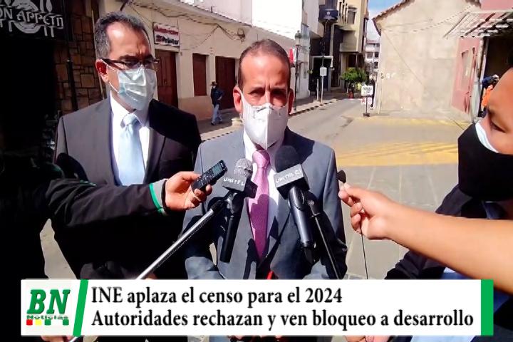 INE aplaza censo y rechazan porque bloquea desarrollo del país, buscarán reuniones entre regiones