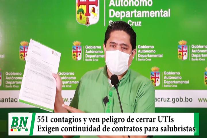 Alerta coronavirus, 551 contagios y peligran UTIs por posible cierre, exigen garantizar contratos