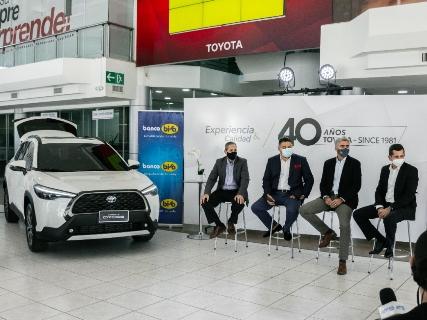 El BISA y Toyosa apuestan por un futuro sostenible con créditos para vehículos híbridos y eléctricos