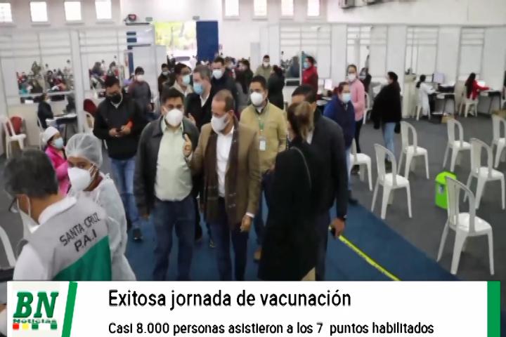 Alerta coronavirus, Recuperados en aumento, vacunación exitosa, puntos de pruebas cambiados por clima