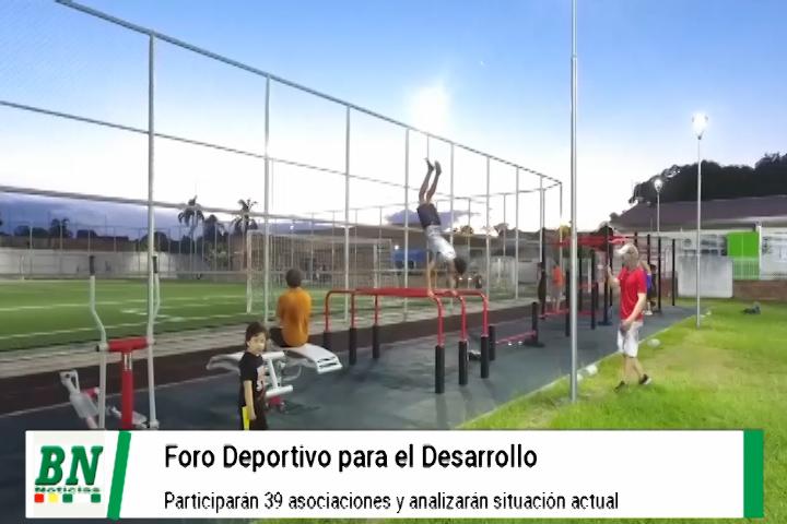 Foro de desarrollo del deporte organizado por el municipio aglutinará a 39 asociaciones