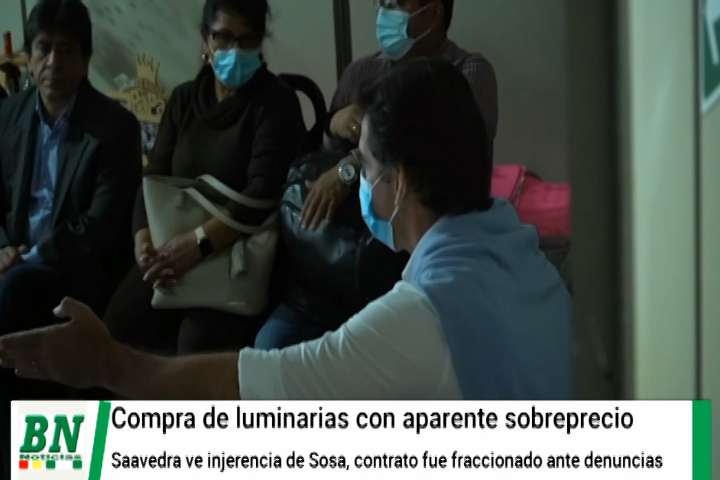 Concejal cuestiona proceso que le sigue empresa que vendía luminarias y ve injerencia de Sosa