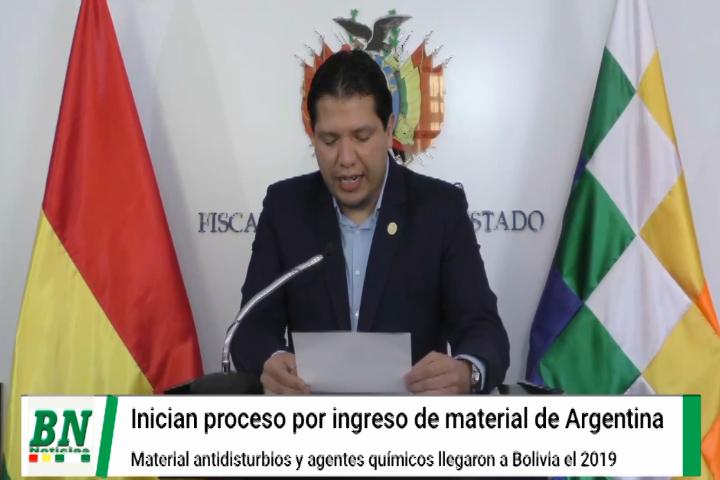 Fiscalia inicia proceso para dar con los responsables del ingreso de equipo policial desde Argentina
