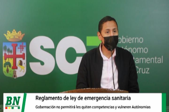 Reglamento de la Ley de Emergencia Sanitaria vulnera las Autonomías y competencias regionales