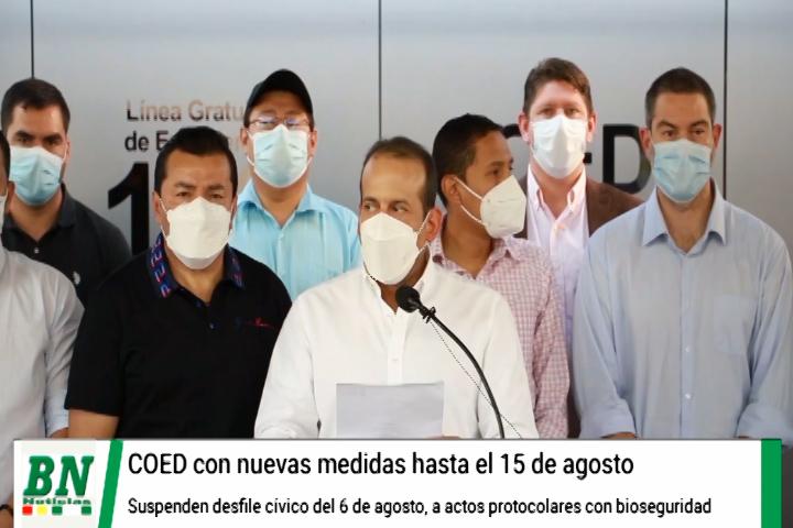 Nuevas medidas por pandemia se aplican desde este sábado, en San Ignacio autorizan festejos y exigen cumplir bioseguridad