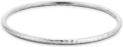 Hammered Bangle Bracelet In Sterling Silver Blue Nile