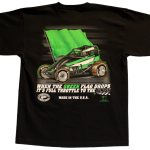 The Meaning Of Life T Shirt Black Wingless Sprint Car B 1 Racing Apparel