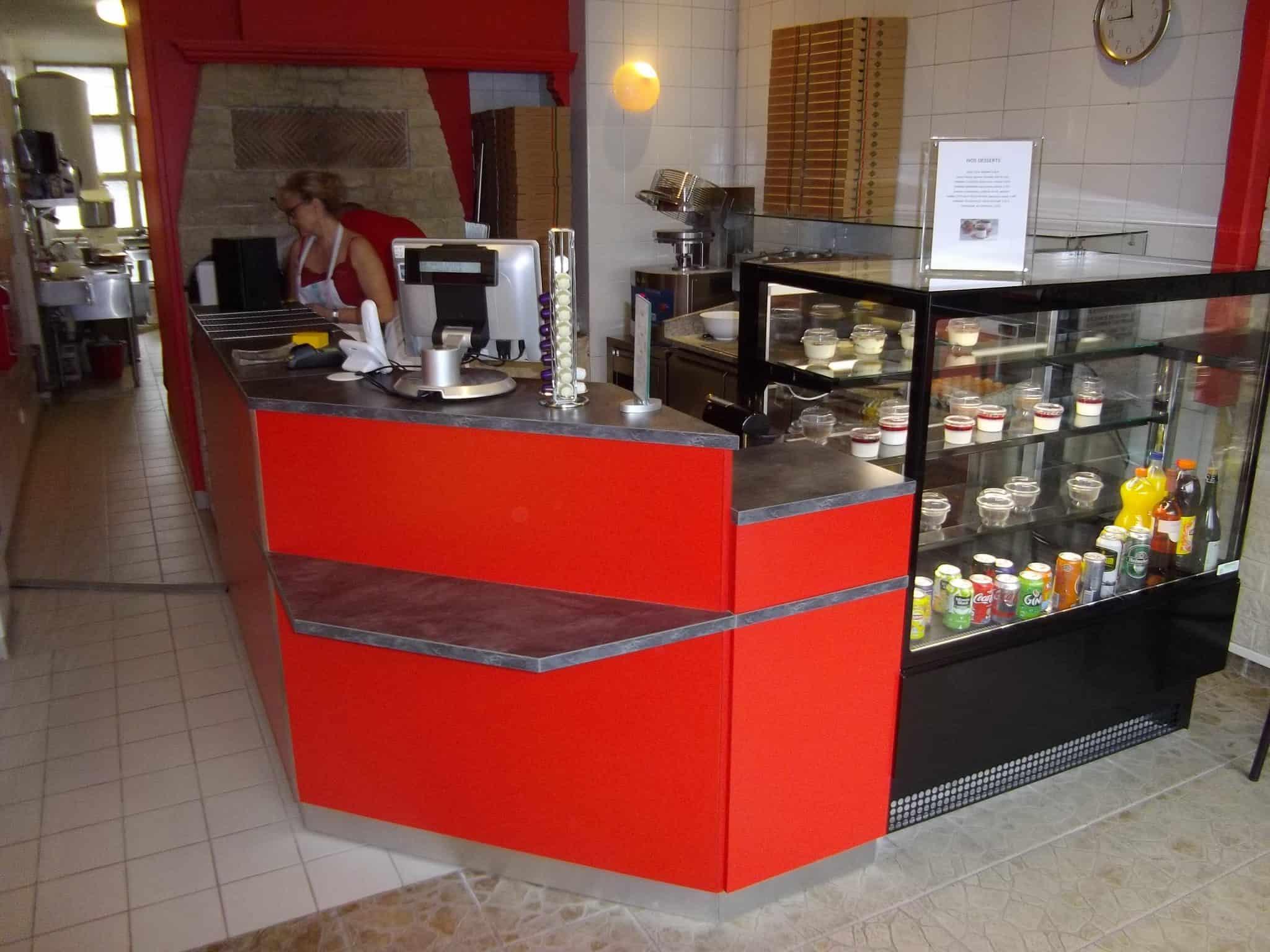 mobilier restauration comptoir bar
