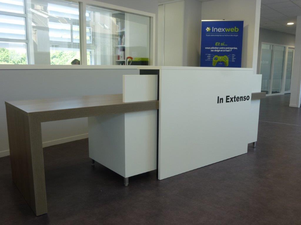 Mobilier De Bureau Amp Comptoir Daccueil Sur Mesure Cherbourg