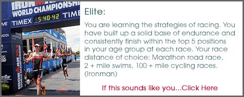 Tips for the Elite Triathlete (Ironman)