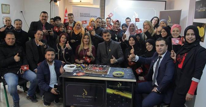 افتتاح مكتب  p4m في تونس