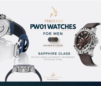 ساعة فينيكس الرجالية  PW01