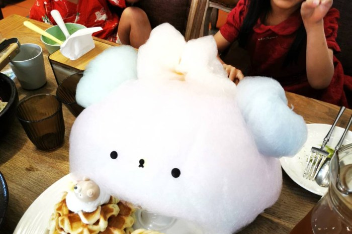 台南。中西區》CHUJU雛菊餐桌。森林網美風+超療癒熊熊棉花糖