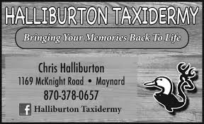 Halliburton Taxidermy
