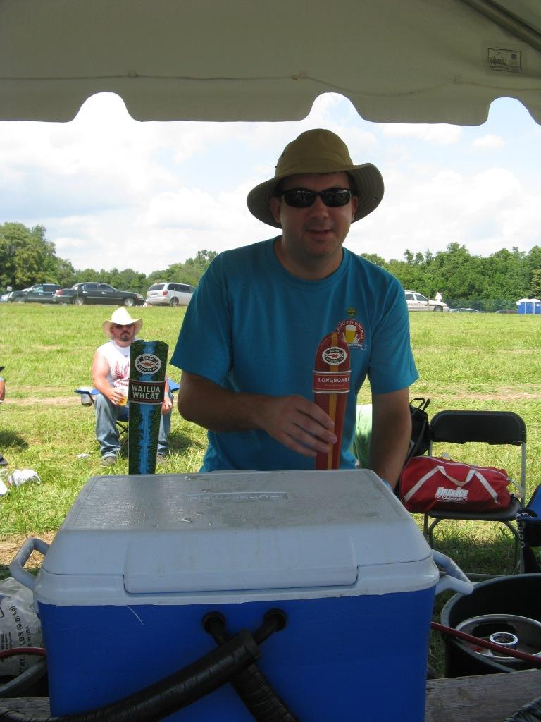 Kona Beer Tent