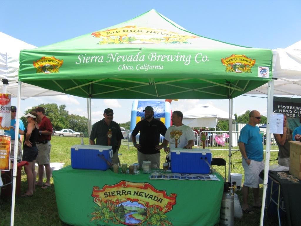 Sierra Nevada Beer Tent