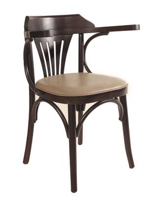 Cadeira-de-Madeira-Estofada-com-braço-Cabo-Frio-Gold