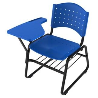 Cadeira Universitária com Prancheta e Porta Livros APARECIDA