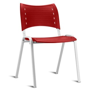 Cadeira de Metal Empilhável Campos 01
