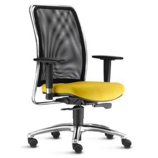 Cadeira Presidente Alta Giratória com Braço Regulável ARAMINA