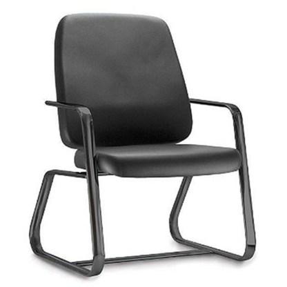 Cadeira Presidente Trapezoidal com Braço FORTE reforçada para Obeso