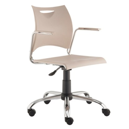 Cadeira Secretária Giratória com Braço BAURU 2