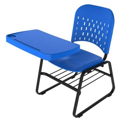 Cadeira Universitária com Prancheta e Porta Livros ARUJÁ