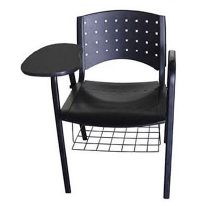 Cadeira Universitária com Prancheta e Porta Livros BERTIOGA