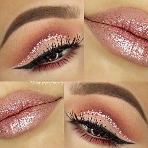 Maquiagem com Glitter 2022 para Natal