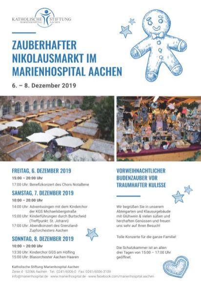 Nikolausmarkt Marienhospital 2019