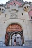 Neuschwanstein entrance