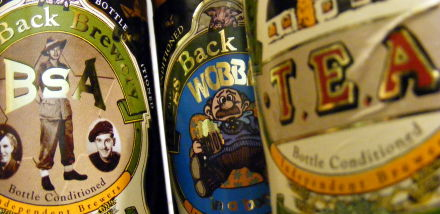 Various Hogsback Brewery beers