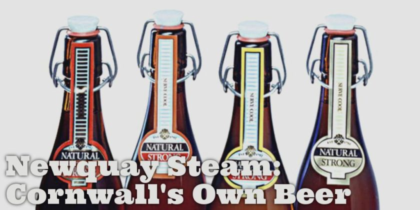 Newquay Steam Beer swingtop bottles.